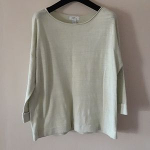 Lord & Taylor Cotton & Linen Top